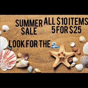 🌊Summer Sale🌊 5 for $25